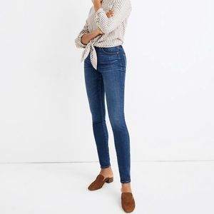 Madewell Hayes curvy high rise skinny jeans 26